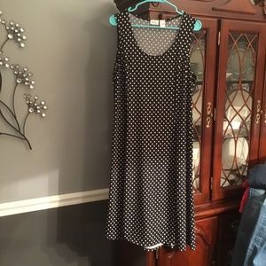 KIM ROGERS SLEEVELESS DRESS SIZE LARGE